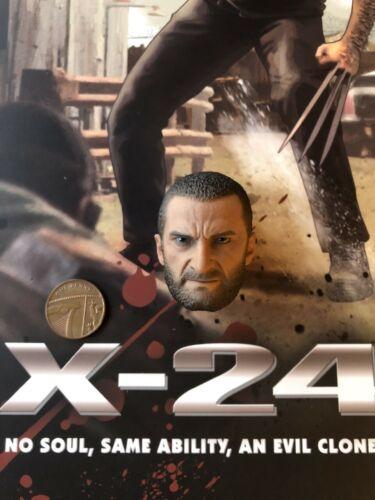 SooSoo Toys X-24 Wolverine Logan Head Sculpt 2 loose 1//6th scale