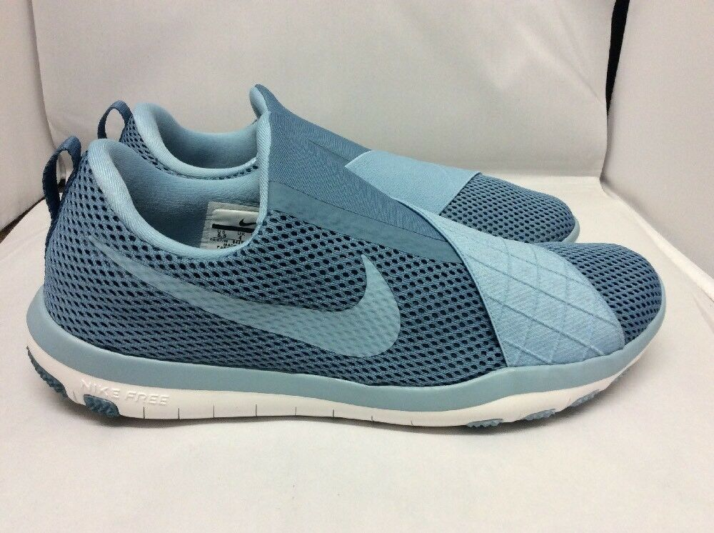 NEW Femme NIKE FREE CONNECT SMOKEY Bleu TRAINERSTaille 4    130