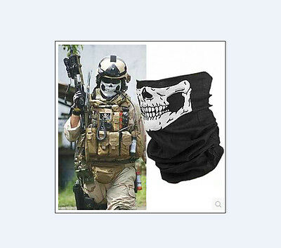 1pcs New scarf Outdoor sun hood Variety Bicycle Sports scarf skull mask A0006#