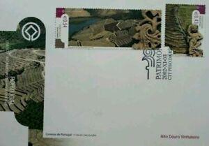 SJ-Portugal-UNESCO-Heritage-2002-Place-Landmark-Tourist-Nature-stamp-FDC