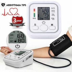 Digital-Blutdruckmessgeraet-Oberarm-Blutdruck-Pulsmessung-Vollautomatische-Monito