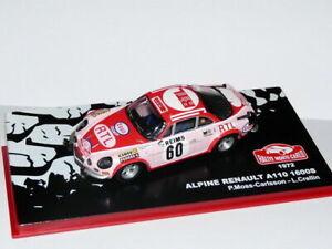 RMC1M-1-43-IXO-altaya-Rallye-Monte-Carlo-RENAULT-Alpine-A110-1600S-1972-Moss