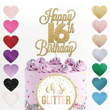 Happy 7th Birthday Cake Topper Seven Daughter Son Nephew Niece