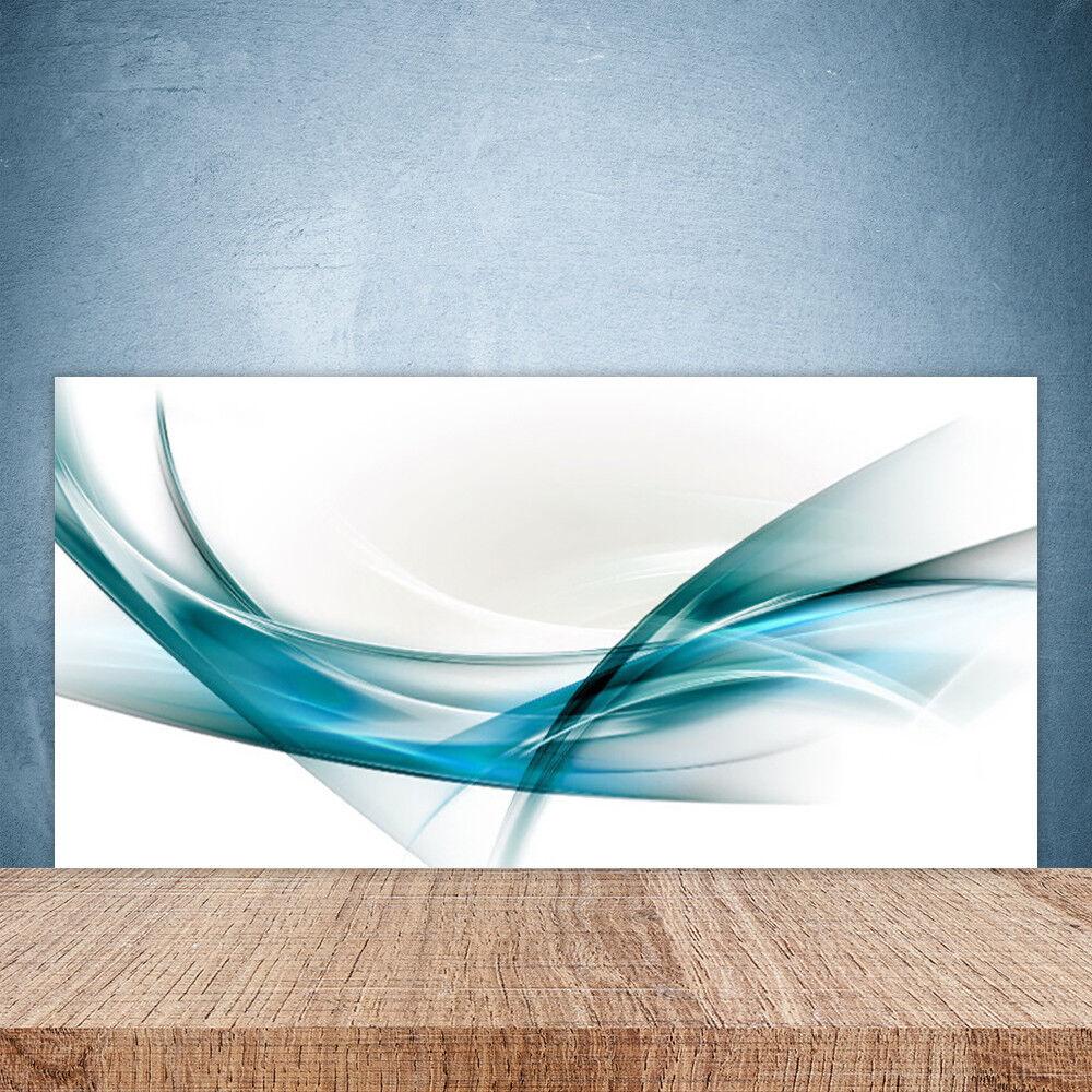 Crédence de cuisine en verre Panneau Paroi 100x50 Art Lignes Abstraites