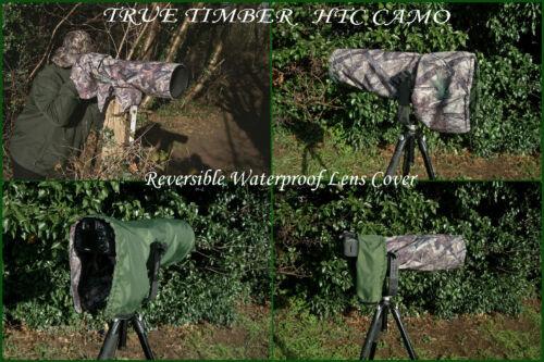 Reversible de doble capa de agua//P cámara//lente cubierta para Nikon 400mm F//2.8E FL Ed Vr