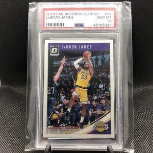 2018-Lebron-James-Optic-Base-PSA-10-94-Los-Angeles-Lakers-Finals-MVP