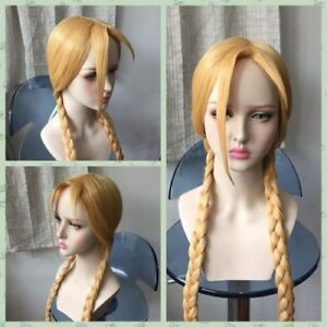 Street Fighter Cammy cosplay anime Wig