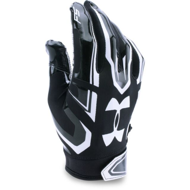 New Under Armour Youth UA F5 Football Gloves 1271185