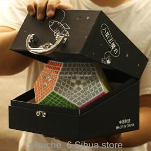 Shengshou Megaminx Cubo Mágico Puzzle de de de 8x8x8 Cubo Velocidad Cubo para desafío blancooo  con 60% de descuento
