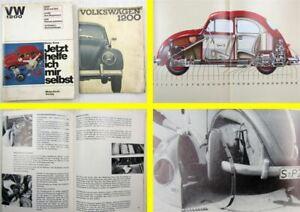 Werkstatthandbuch-VW-Kaefer-1200-Jetzt-helfe-ich-mir-selbst-Bedienungsanleitung
