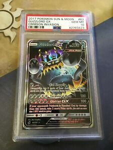Guzzlord-GX-Pokemon-Holo-Rare-Sun-amp-Moon-Crimson-INv-2017-PSA-10-Gem-MINT-POP-19