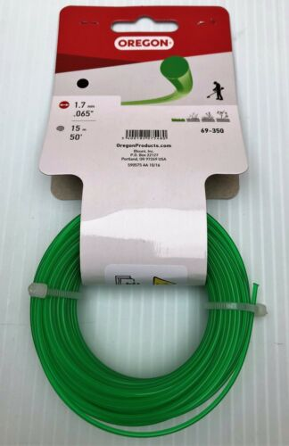OREGON GREEN ROUND TRIMMER LINE 1.7MM 15M REPLACES FLYMO FLY019