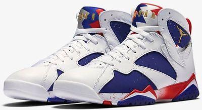 Nike Air Jordan 7 Retro Olympic Tinker Alternate Sz 17 White Blue Red 304775 123 | eBay