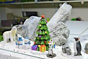 Aquarium Christmas Ornaments Olaf Fish Tank Christmas Tree Fish Tank Decorations Ebay