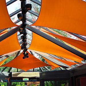 Wonderful Image Is Loading Sun Shade Depot Orange Waterproof Sail Patio Cover