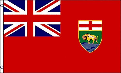 Huge 3/' x 5/' High Quality Manitoba Provincial Flag Free Shipping