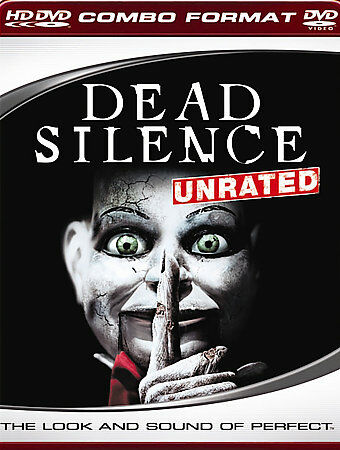 HD DVD Dead Silence UNRATED also works on regular DVD player