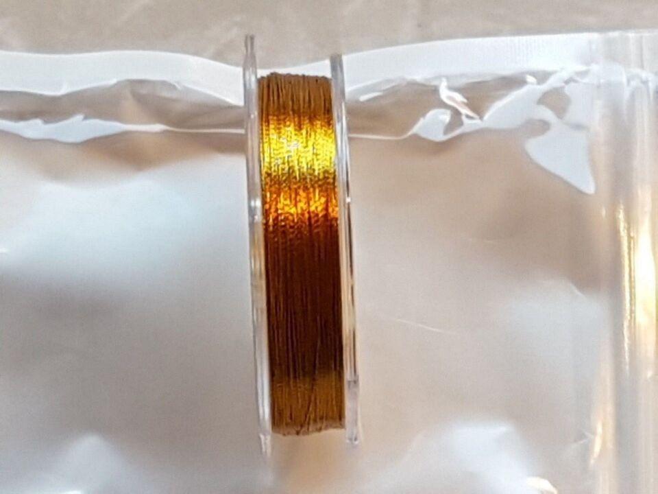 Andet, Beviklingstråd, 50m Guldmetallic D