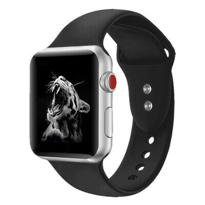 Hot Soft Silicone Sport Watch Band Strap For Apple Watch iWatch Series 4 3 2 1