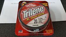 1 Spool Berkley Trilene XL Smooth Casting Clear Mono Line 20 Pound Test 270 Yard