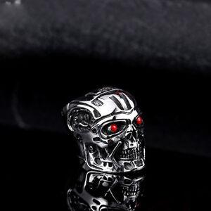 T 800 Terminator Salvation New-Terminator-Salvation-T800-Skull-Agate-Mens-316L-stainless-steel ...