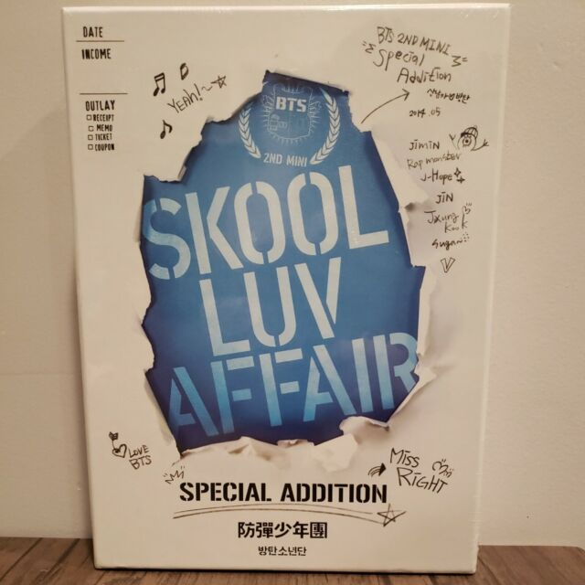 BTS [Skool Luv Affair] Special Addition (Sealed) | US Seller