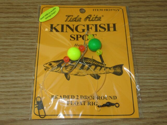 1 PORGY RIGS SCUP TIDE RITE R461-6 BEADED HI-LO RIG SALTWATER  FISHING MUSTAD