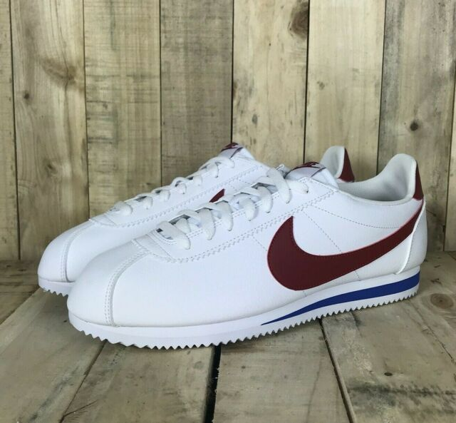 2690a955f Nike Classic Cortez Leather Mens Size 8.5 White Red 749571 154 for ...