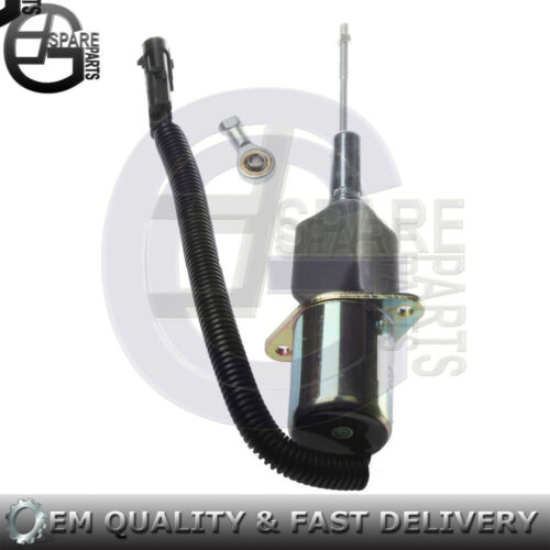 New Fuel Shutoff Solenoid For John Deere 644G 530B 535 660D 848G Loader