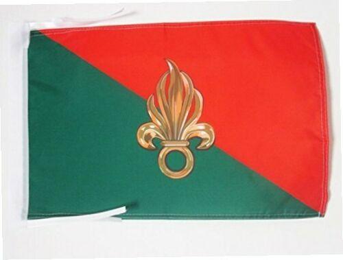 FREMDENLEGION... AZ FLAG Flagge Frankreich LÉGION ÉTRANGÈRE 45x30cm mit Kordel