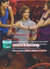 Wella Shockwaves Ultimate Effects Go Matt Clay 2007 Magazine Advert #3585