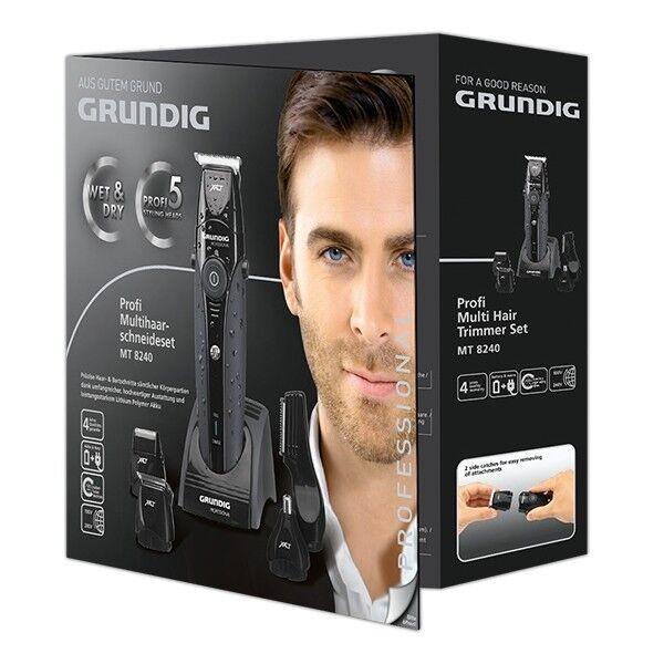 GRUNDIG MT 8240 WET/&DRY Profi Multihaarschneideset Rasierer Haarschneider MT8240