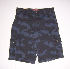 Boys Camo Cargo Shorts Various Husky Sizes  NWT Arizona Jean Co