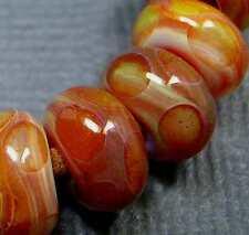 5FISH ~ Handmade Lampwork Boro Spacer Beads ~ Ambience