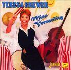 Miss Versatility by Teresa Brewer (CD, Aug-2011, 2 Discs, Jasmine Records)