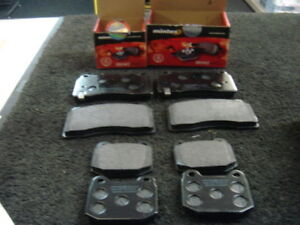 MITSUBISHI LANCER EVO 5 6 7 8 REAR BRAKE DISC MINTEX BRAKE PADS SET