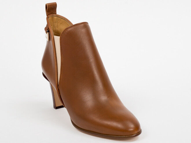 Neu Chloe Braunes Leder Stiefel Größe 38  | Qualität Produkte