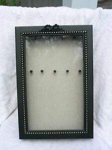 Hanging Wall Jewelry Display Case Or Shadow Box Ebay