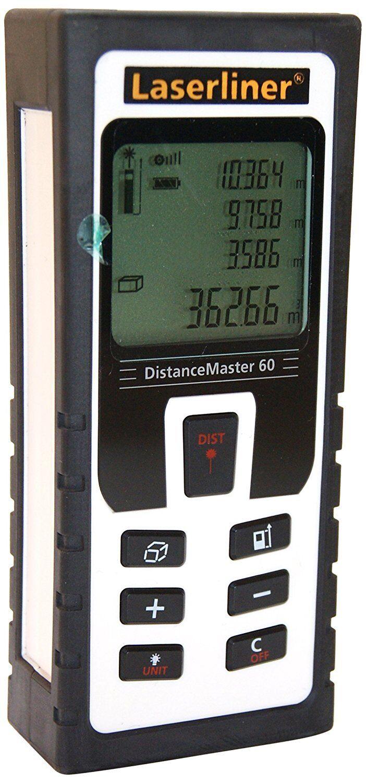 Laserliner Umarex 080.946A Laser-Entfernungsmesser, DistanceMaster 60