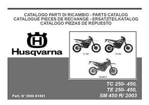 husqvarna motorcycle tc 250 tc 450 tc 510 full service repair manual 2006