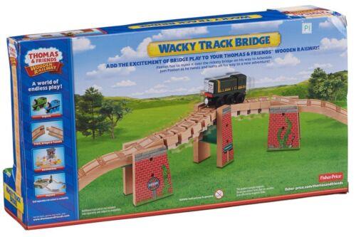 Thomas Friends Wooden Railway Wacky Track Bridge 3 Risers Twisty Track Paxton