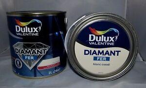 Détails Sur Peinture Fer Blanc Cassé Dulux Valentine 2 L