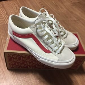 11527a90ca86 Vans Style 36 Marshmallow Racing Red old skool Asia exclusive ...
