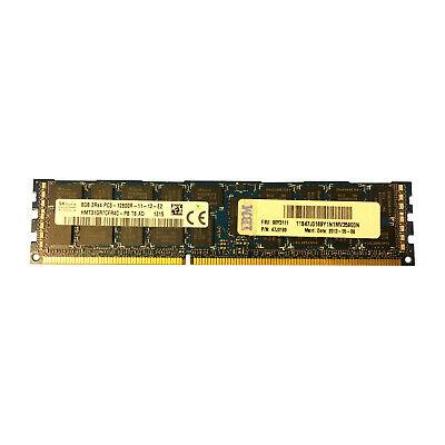 16GB KIT 2 x 8GB REG for DELL PRECISION R5500 T3600 T3610 T5600 T7600 Memory RAM