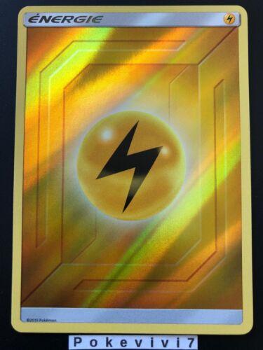 Carte Pokemon ENERGIE ELECTRIQUE Holo Reverse Soleil et Lune 11.5 SL11,5 FR NEUF