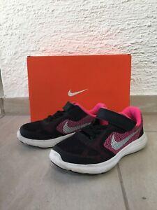 Details zu Nike Revolution 3 *Gr. 27.5 SchwarzPink*