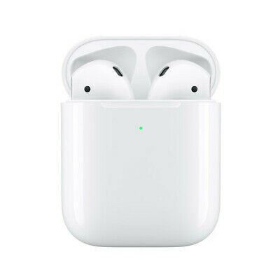 Apple AirPods - Version 2 - Wireless Charging Case - Brand New-One year Warranty
