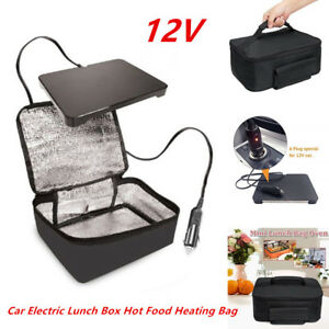 1x Portable Personal 12v Car Electric Lunch Box Mini Hot Food