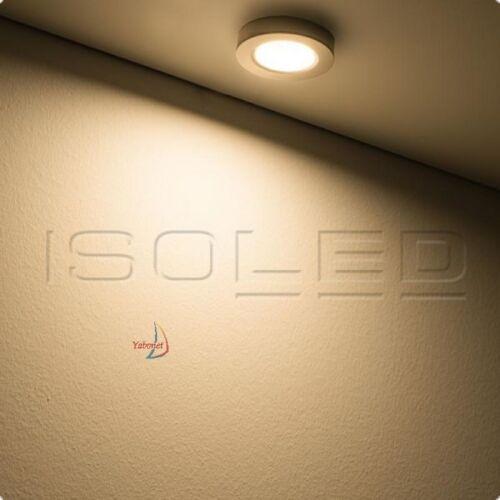 Isoled 112354 LED Einbauleuchte und Unterbauleuchte silber 3W 12V warmweiß