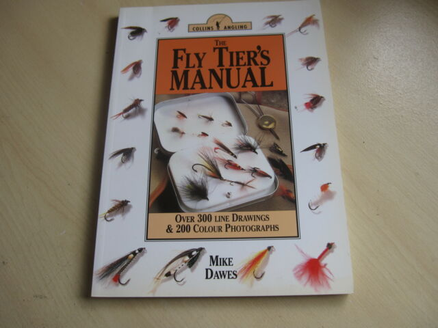 Flytier's Manual by Mike Dawes (Paperback, 1995) one owner from new.